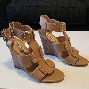 Steve Madden wedges 4 inches